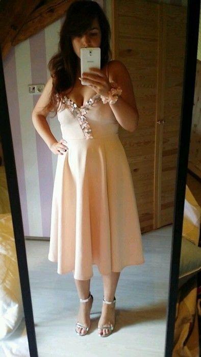 Brautjungfernkleid Kleid Asos