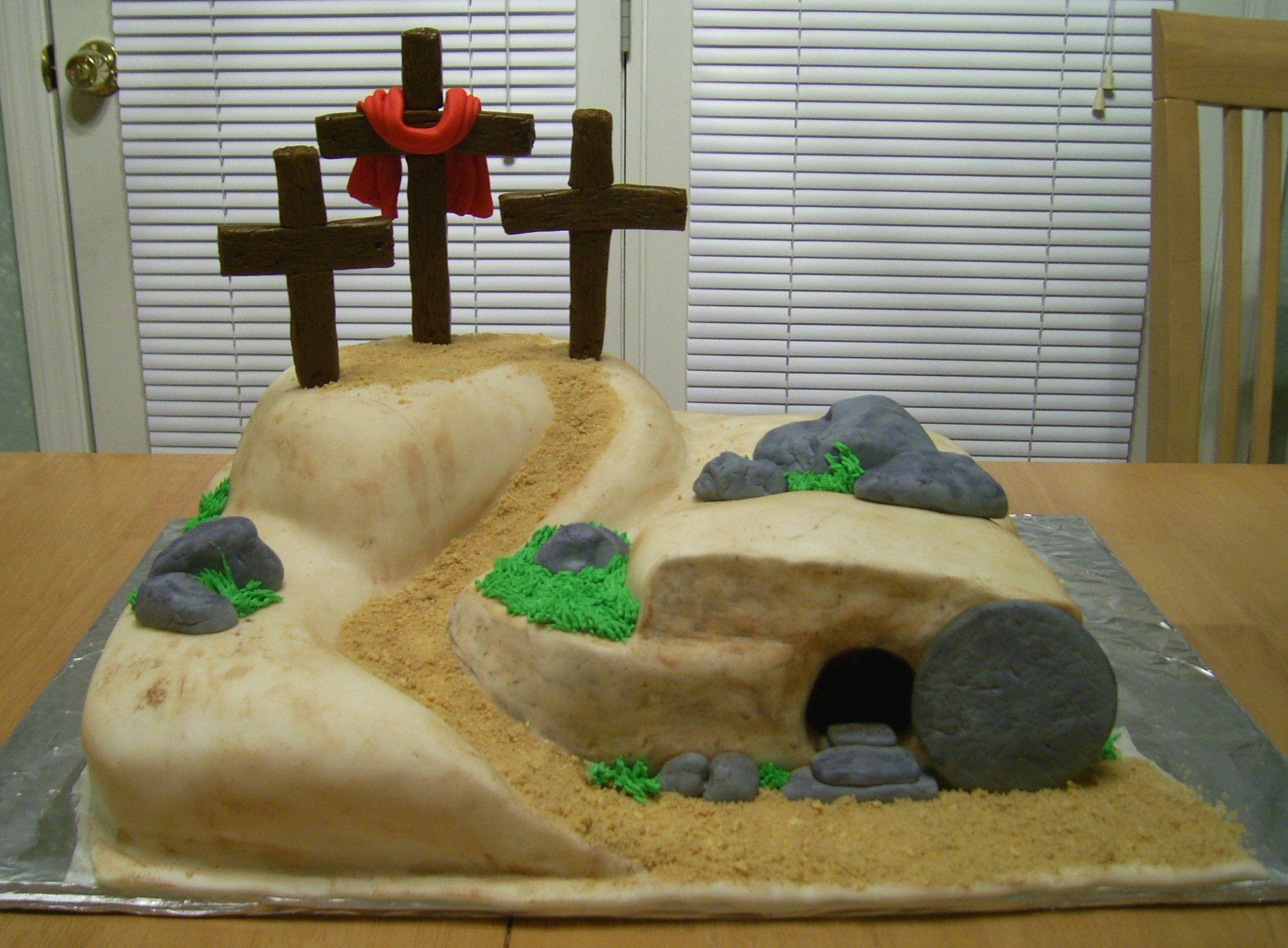 Easter Empty Tomb Cake