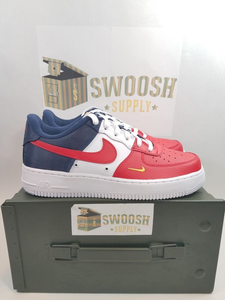 Nike Air Force 1 Low LV8 Independence Day (GS) NEW AUTHENTIC