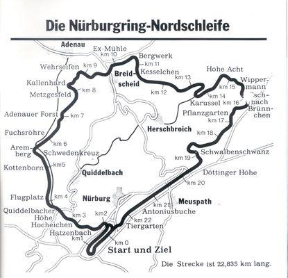 History Nurburgring Race Track Slot Racing Super Sport Cars