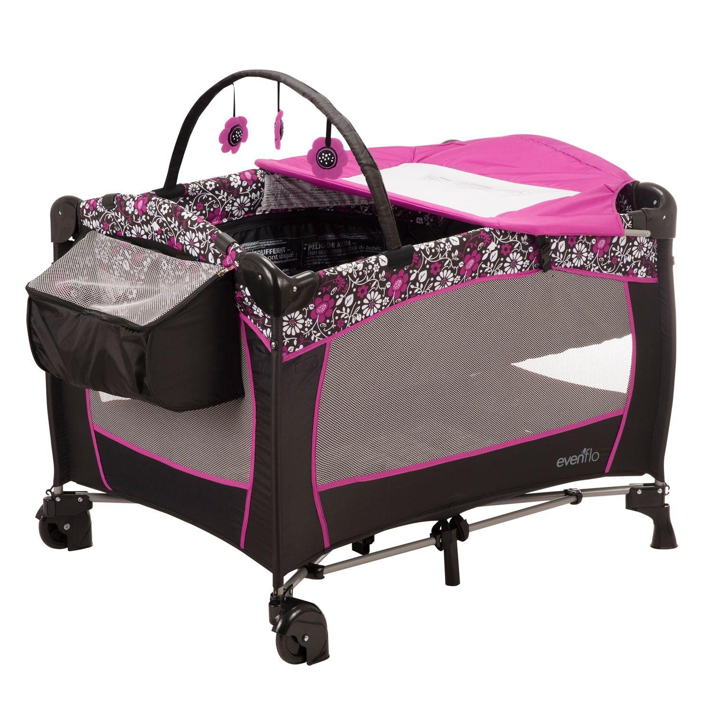 Evenflo Daphne Deluxe Portable Babysuite Playard Baby Playpen Evenflo Baby Trend Stroller
