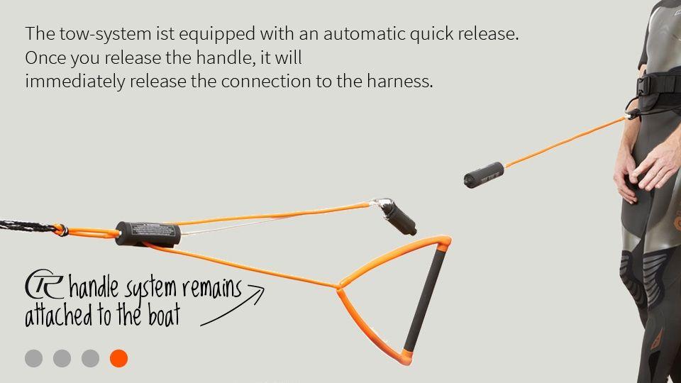 Waterski & Wakeboard Harness How it works 4 Wakeboard