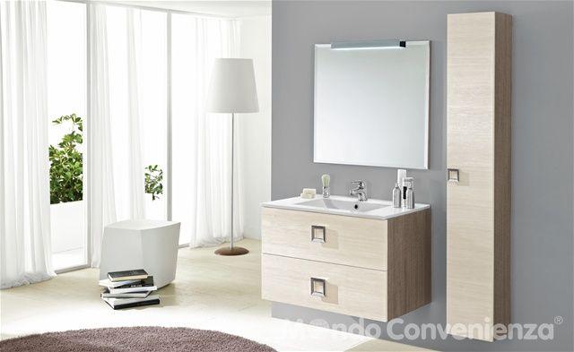 Arredobagno moderno ~ Moderno arredo bagno moderno mondo convenienza arredamento