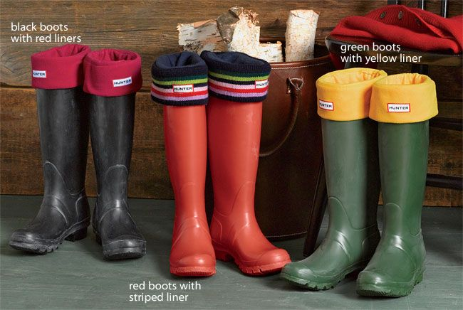 I Need These For The Slushy Weather Boots Hunter Boots Green