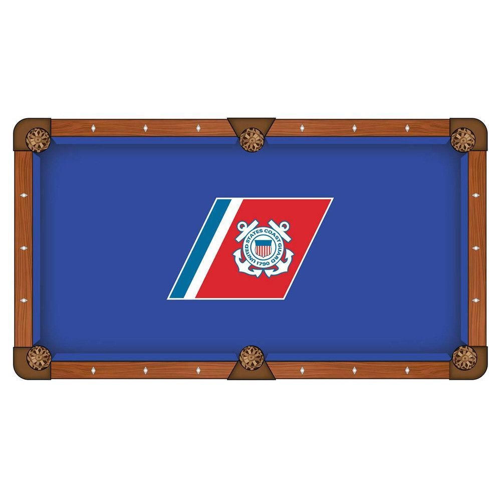 Coast Guard Bears Pool Table Cloth (With images) Pool