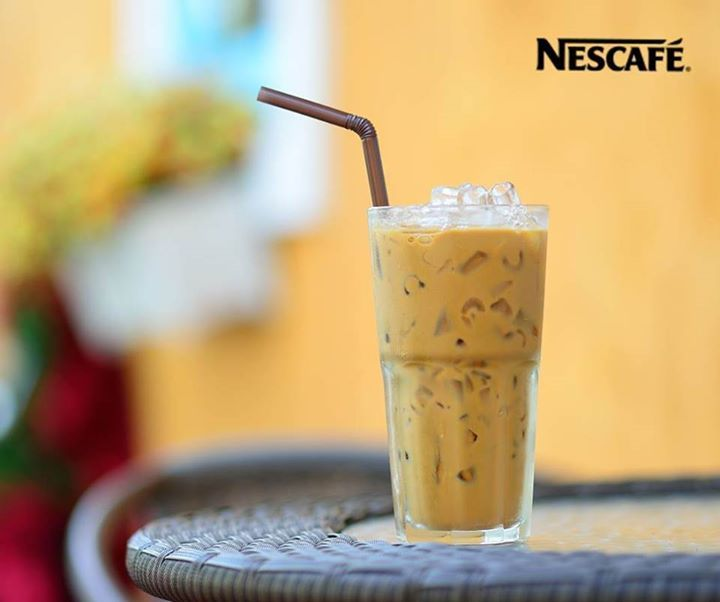 Start Your Day With A #cold #refreshing Glass Of @NESCAFE