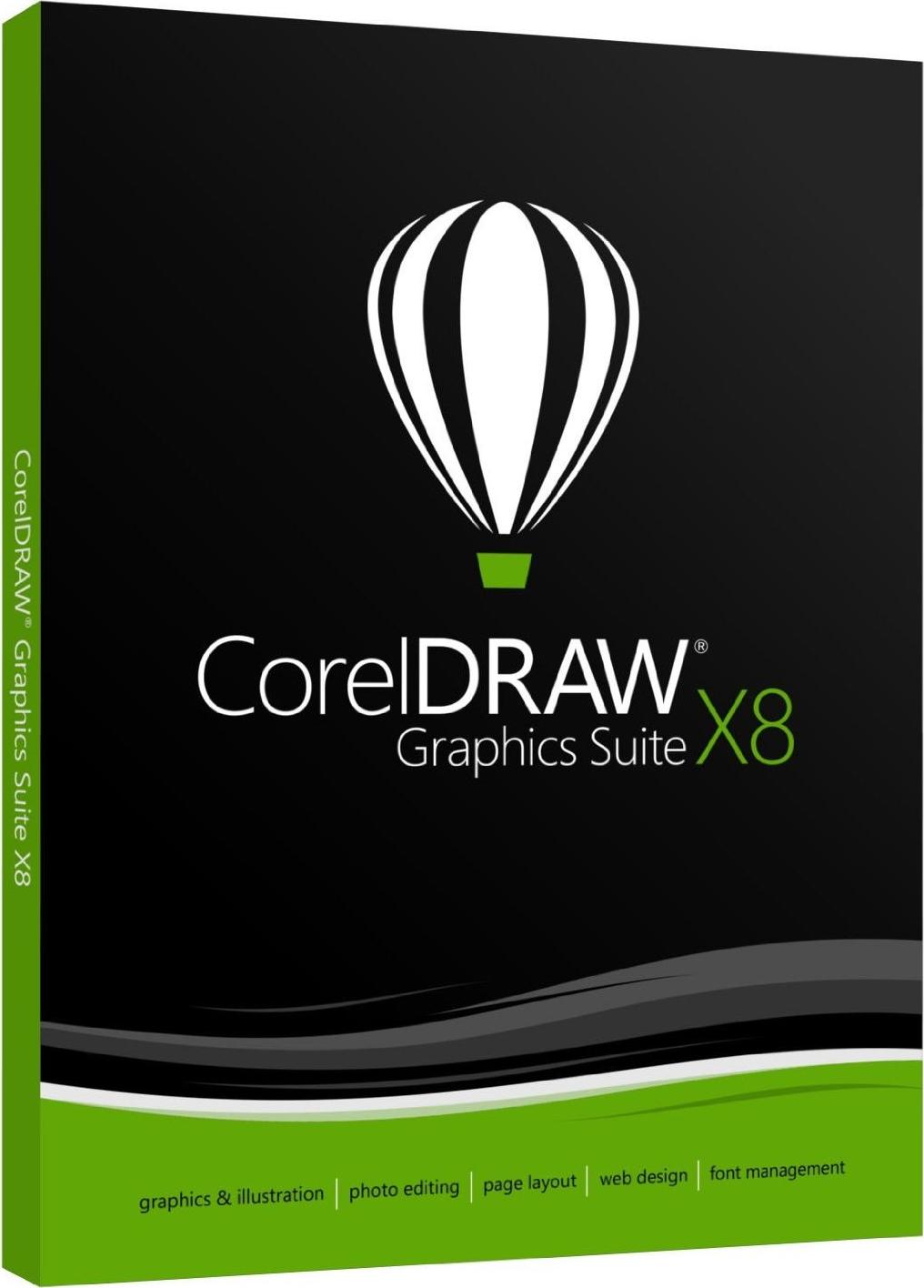 CorelDRAW Graphics Suite X8 v18.0.0.448 Multilenguaje (Español), Software  de Diseño Gráfico - IntercambiosVirtuales