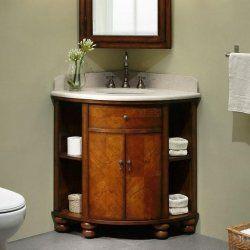 Corner Bathroom Vanities Smart Solutions For Small Bathrooms Corner Bathroom Vanity Corner Sink Bathroom Corner Vanity