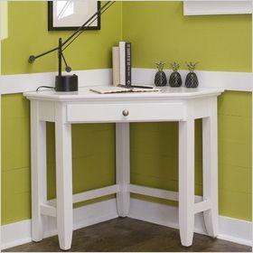 Elegant Corner Desks For Small Spaces | White Corner Desk With One Drawer For Small  Bedrooms U0026 Living Spaces | Lake Belton Condo | Pinterest | Bedroom Desk, ... Part 4