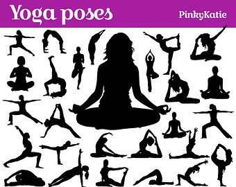 pigeon pose silhouette  google search  yoga poses poses
