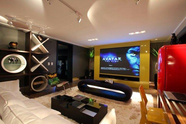 Sala De Tv E De Jogos ~ sala de jogos veja modelos e dicas para montar uma em sua casa sala de