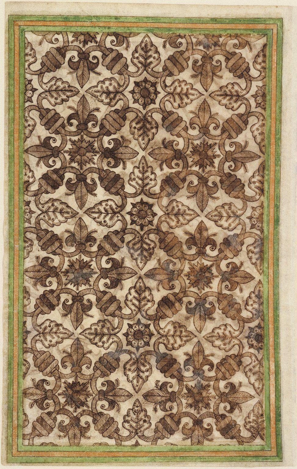 Thomas trevelyon miscellany biomorphic patterns pinterest