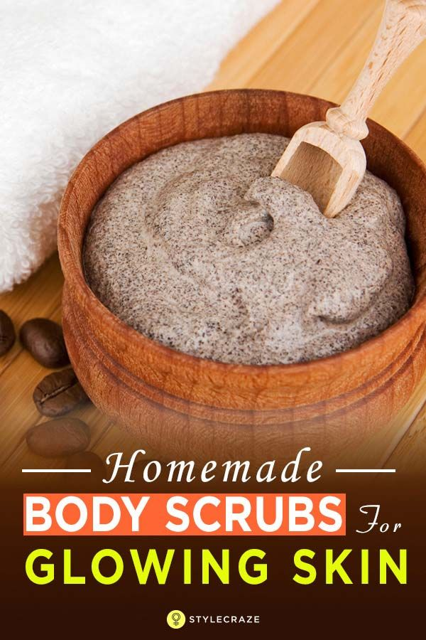 10 Simple Homemade Body Scrubs For Gorgeous Glowing Skin Coffee