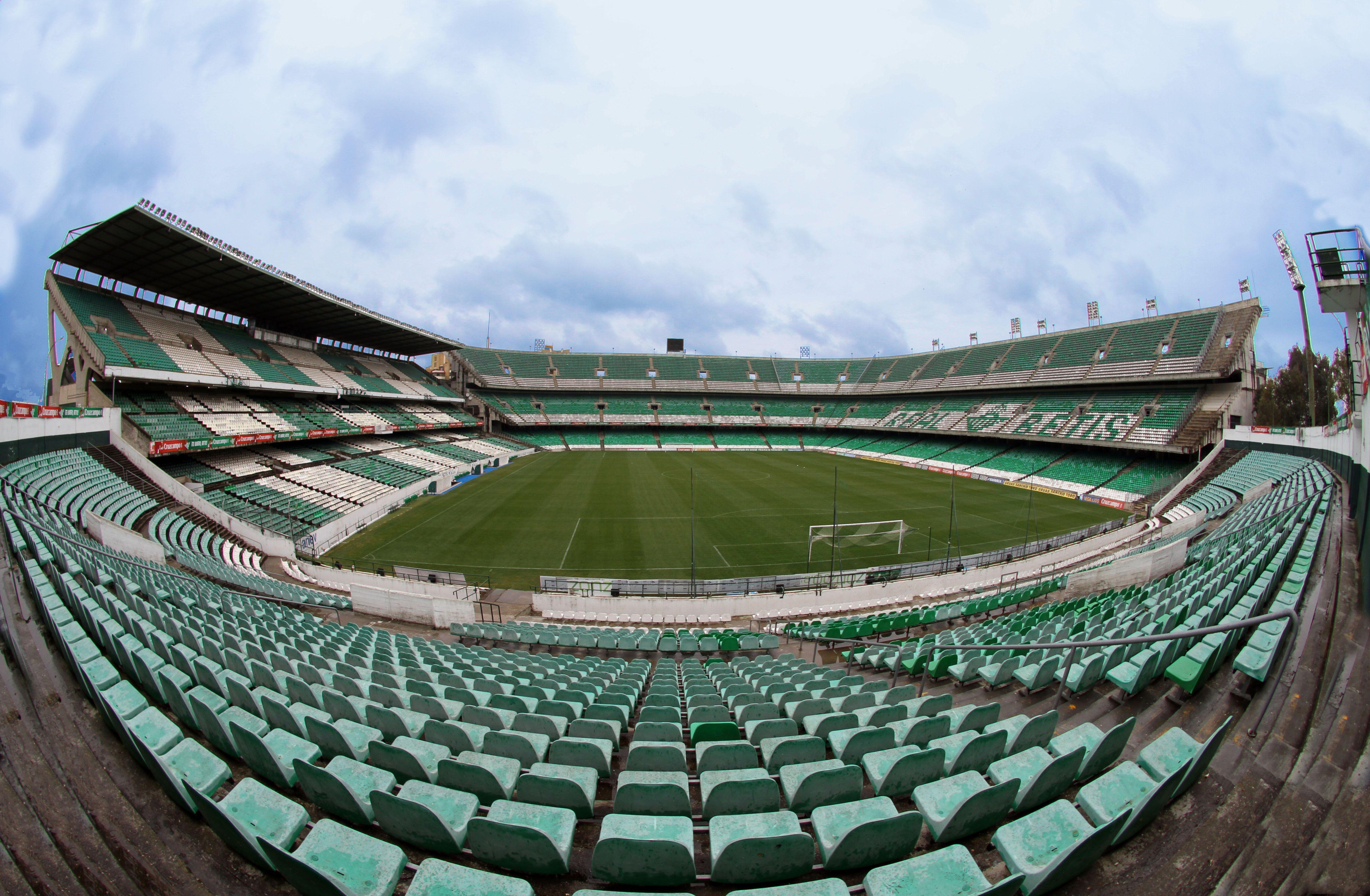 Estadio Benito Villamarín Real Betis Balompie Real Betis Balompié Stadium Wallpaper Football Stadiums