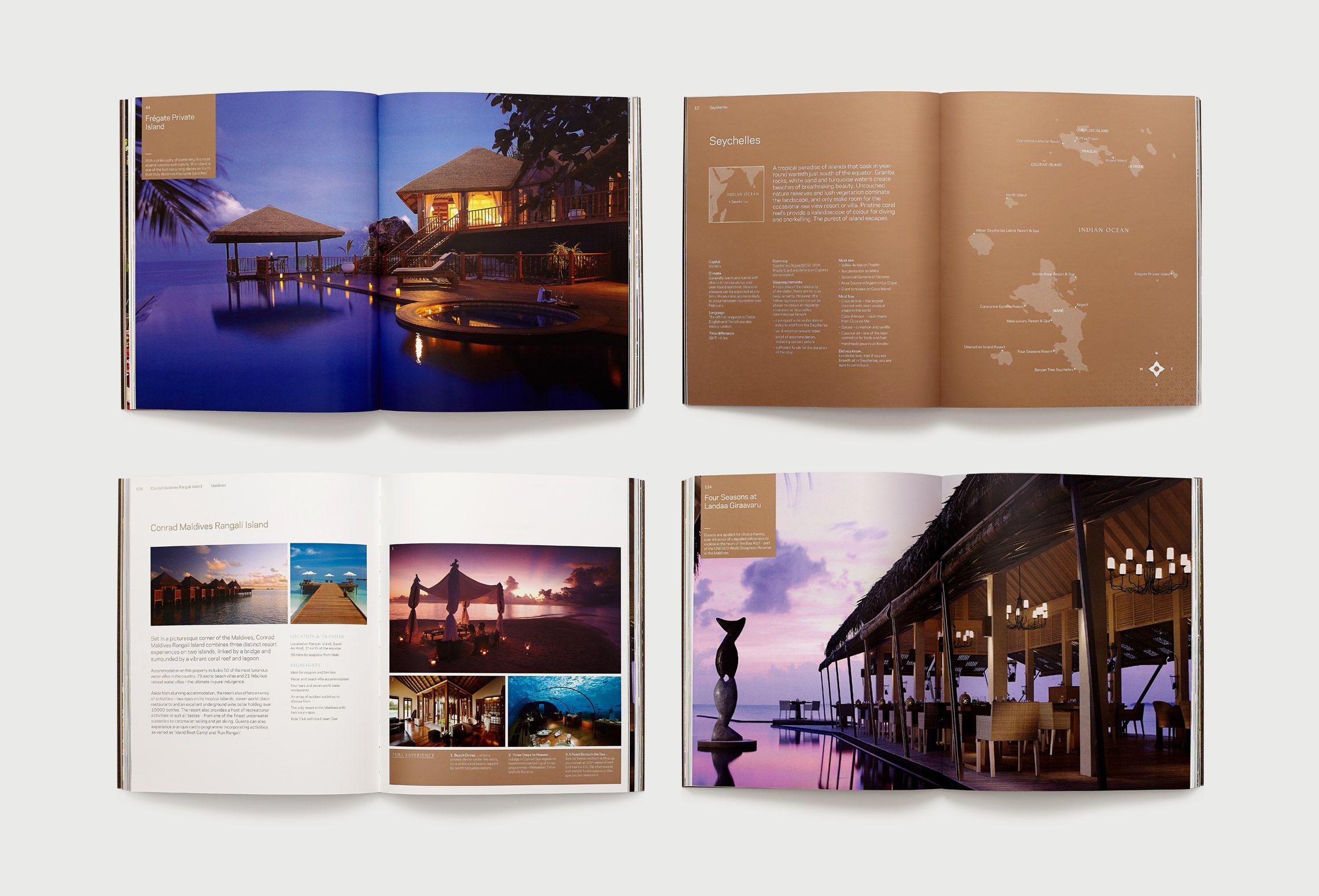 inaria luxury brand design consultants pure escapes brand identity - Design Consultant