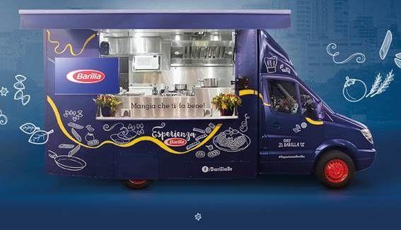 96b125b5df Food Truck Barilla segue sua rota pelo Sul do Brasil