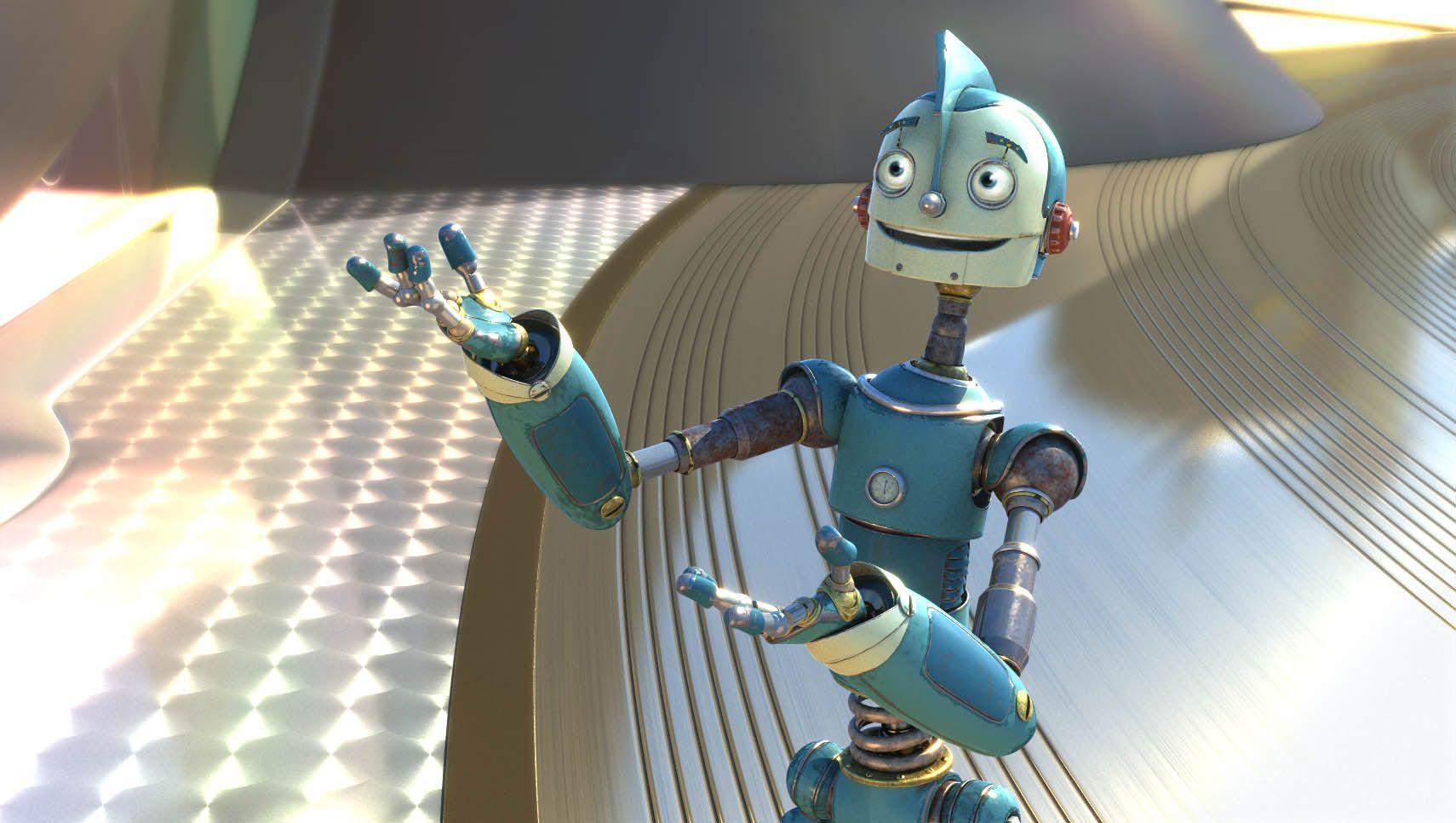 Робот из мультика картинки