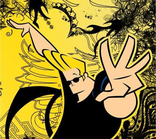 Whatever   Johnny bravo cartoon, Mixed media art canvas ...
