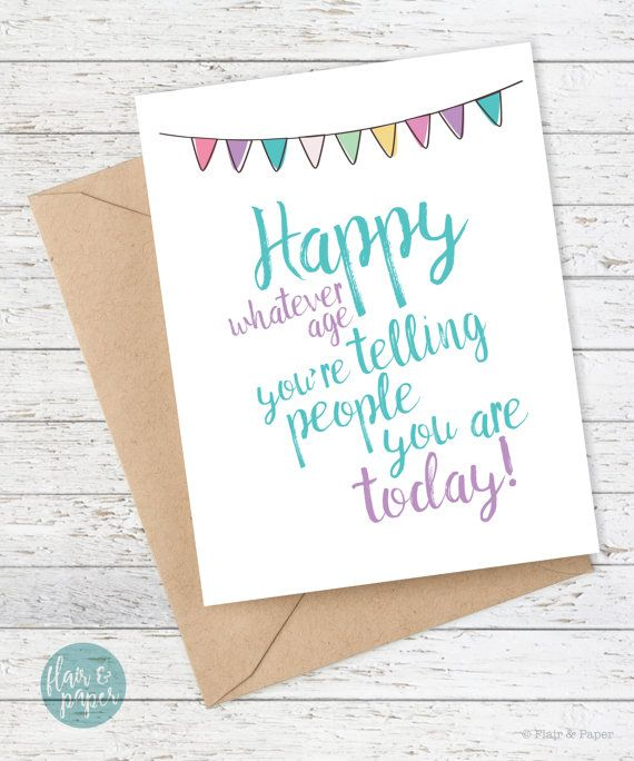 Funny birthday card boyfriend birthday friend birthday funny happy whatever age youre telling people you are bookmarktalkfo Image collections