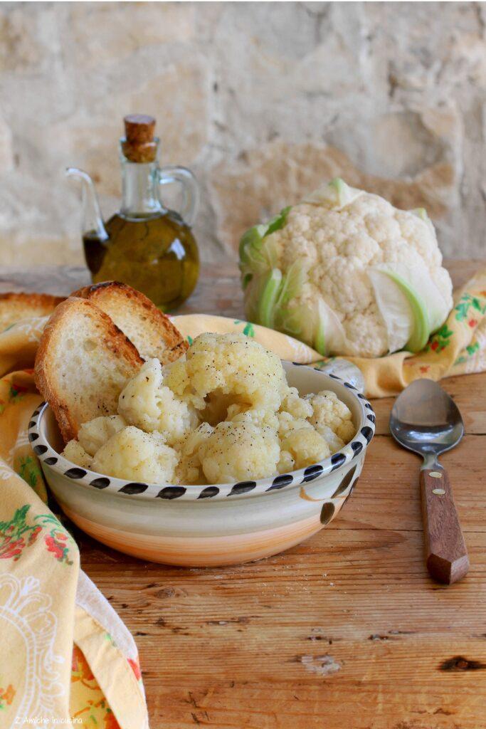 Zuppa di cavolfiore - Ricetta tipica umbra - 2 Amiche in Cucina