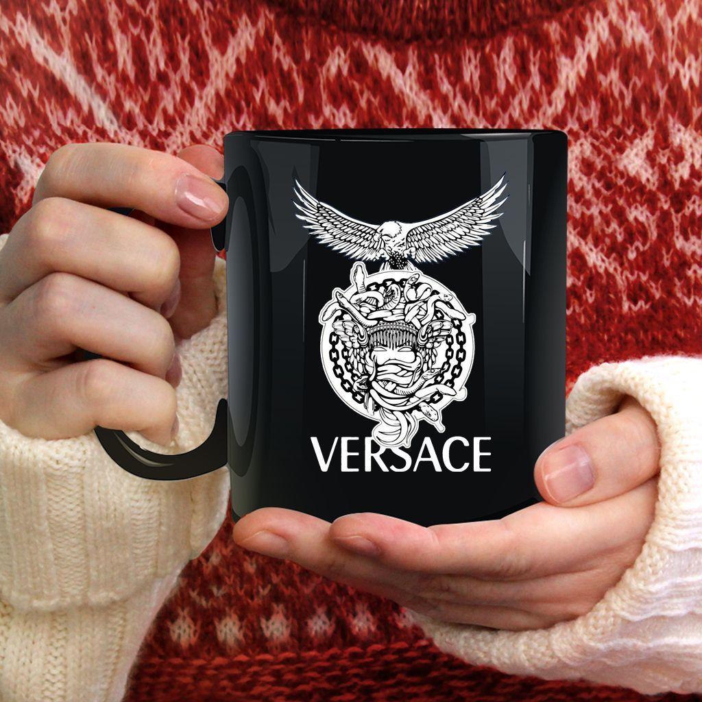 Versace Supervip Logo Mug Violette & Léonie Logo mugs
