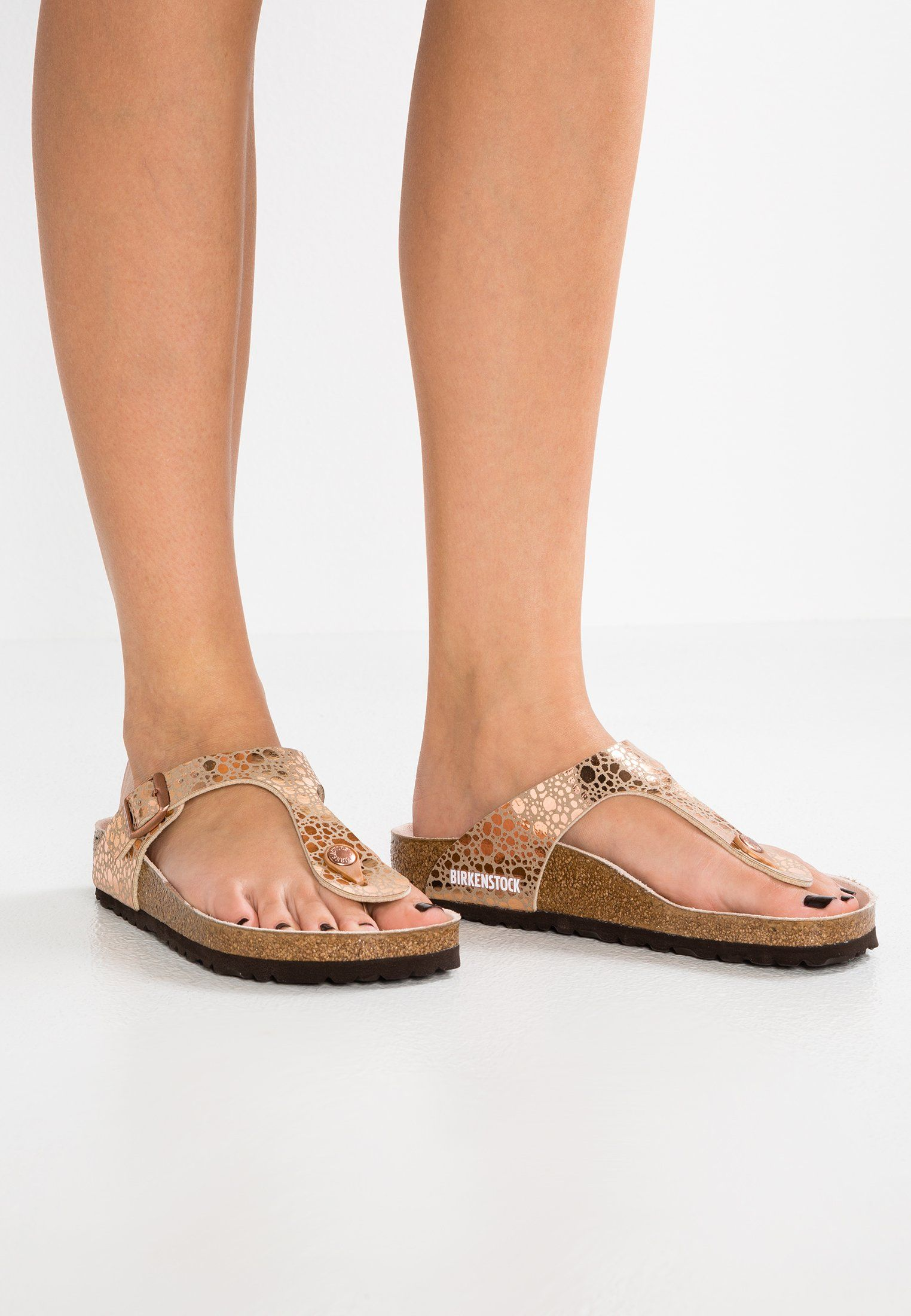 buy popular 3eb1e 732da GIZEH - Infradito - metallic stones/copper @ Zalando.it ...