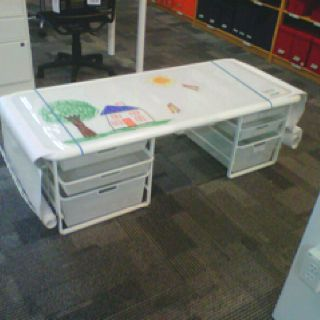 Childrenu0027s Art Table From The Container Store