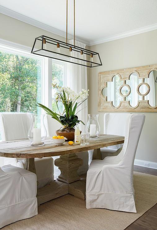 Oval Trestle Dining Table  Dining Rooms  Pinterest  Trestle Endearing Dining Room Furniture Jacksonville Fl Design Inspiration