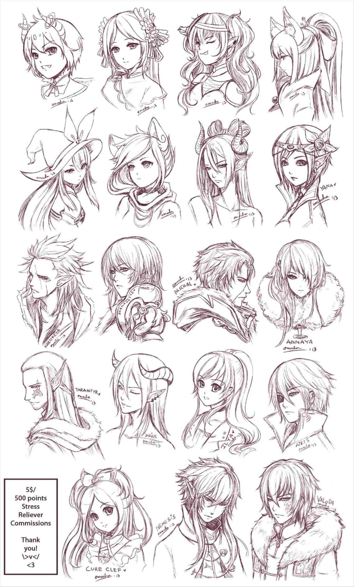 15 Ideas For Drawing Anime Manga Hair Art Drawings Sketches Anime Hair