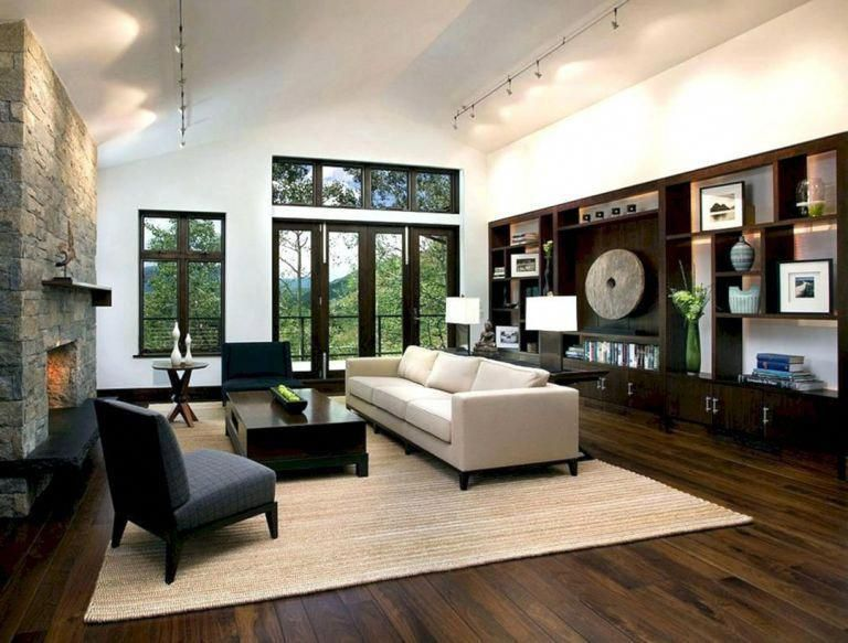 Wow Check Out This Brilliant Photo What A Clever Theme Walnutflooring Dark Wood Floors Living Room Living Room Wood Floor Dark Wood Living Room