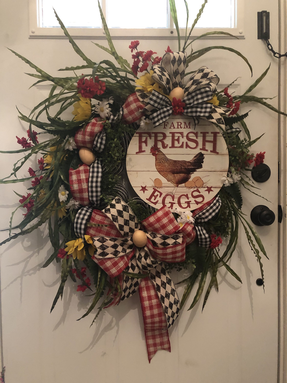 Fresh Farm Wreath Wreaths for sale, Wreaths, Fresh wreath