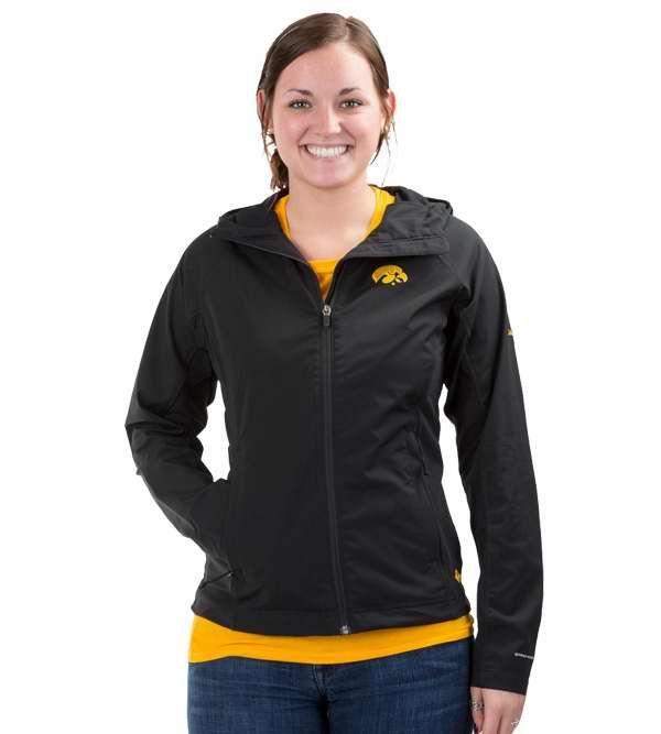 147bb7225 Women s Hawkeye Softshell Jacket in Black by Columbia