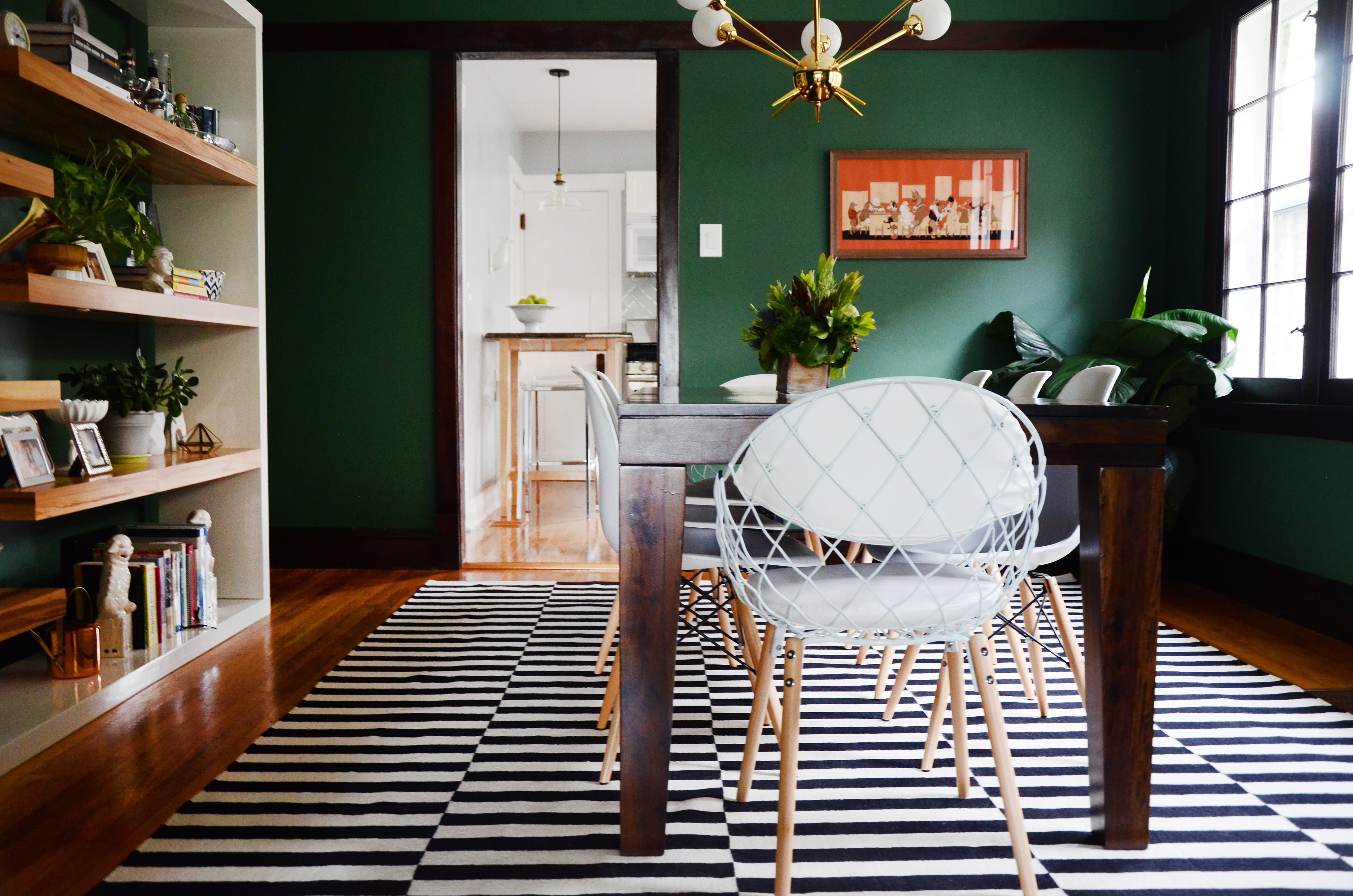 A Just Moved In Tour Of A Chicago Bungalow Dining Room De