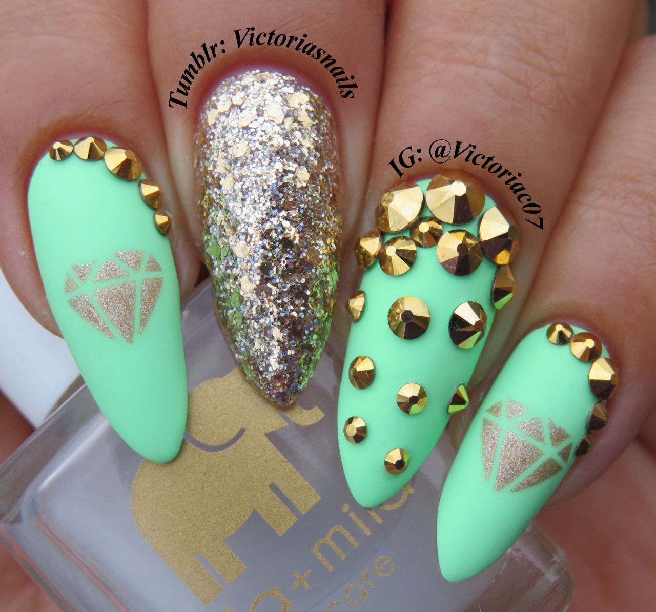 Bright pastels + matte = perfection! Used in this mani: Salon ...
