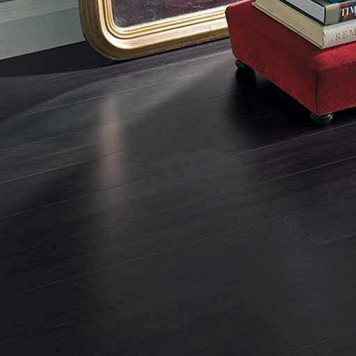 Marvelous Strand Woven Midnight Black Bamboo Flooring