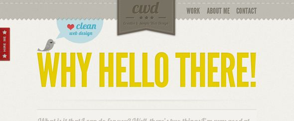 retro web design