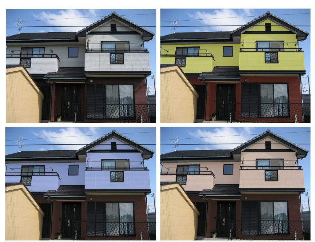外壁塗装の色選び 人気の組合せとプロが選ぶ配色9選 外壁塗装