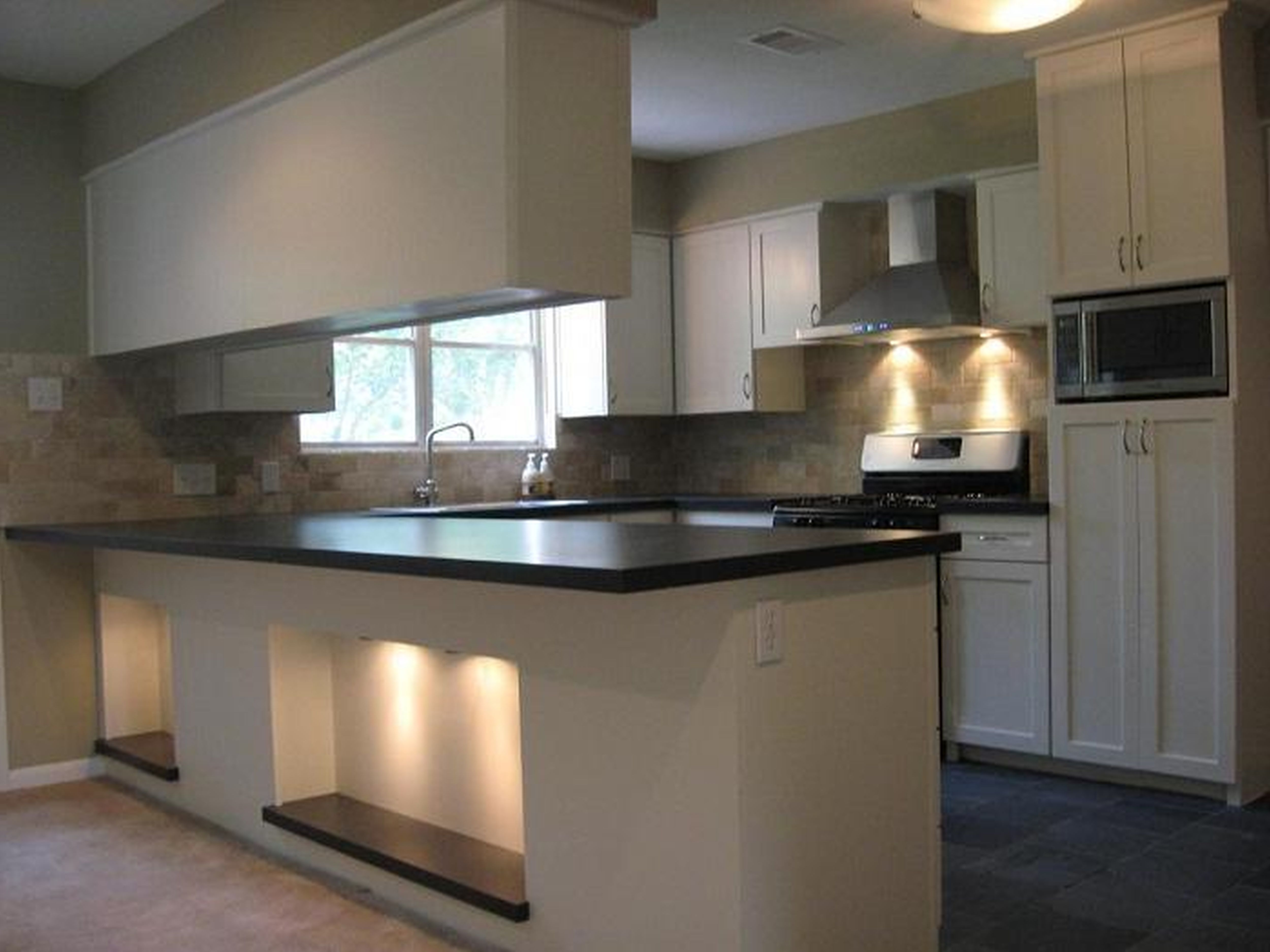 If We Paint Our Cabinets White This Backsplash Actually Would Adorable Latest Kitchen Designs Uk 2018
