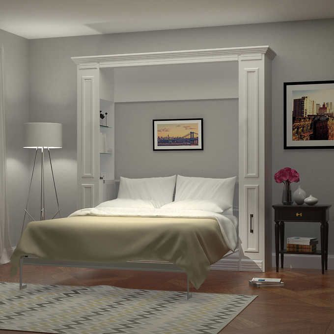 Bed Room Porter Queen Portrait Wall With Internal