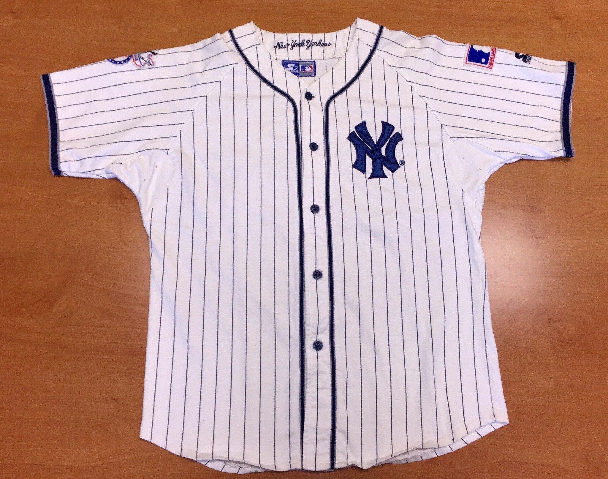 Vintage 1990s New York Yankees Starter Jersey Mariano Rivera Bernie Williams Joe Torre Dimaggio Dav New York Yankees New York Yankees Baseball Yankees Baseball