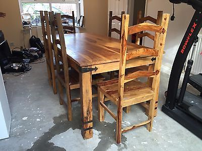 Jali dining table and chairs https://t.co/WlhFoobpVX https://t.co/OKX7sWIUUX