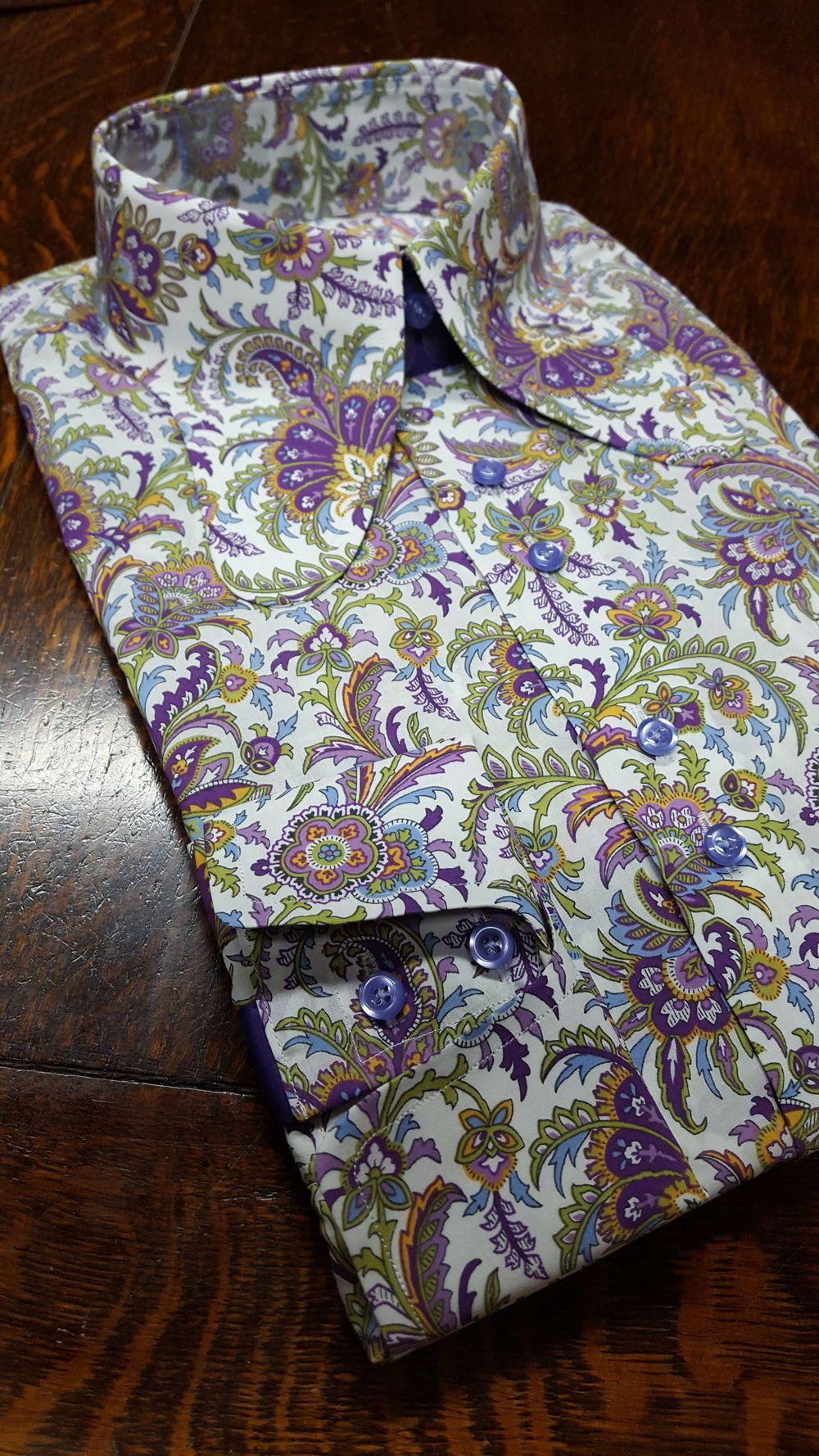 39 Purple Haze 39 Beagle Collar Shirt 39 Dandyashby 39