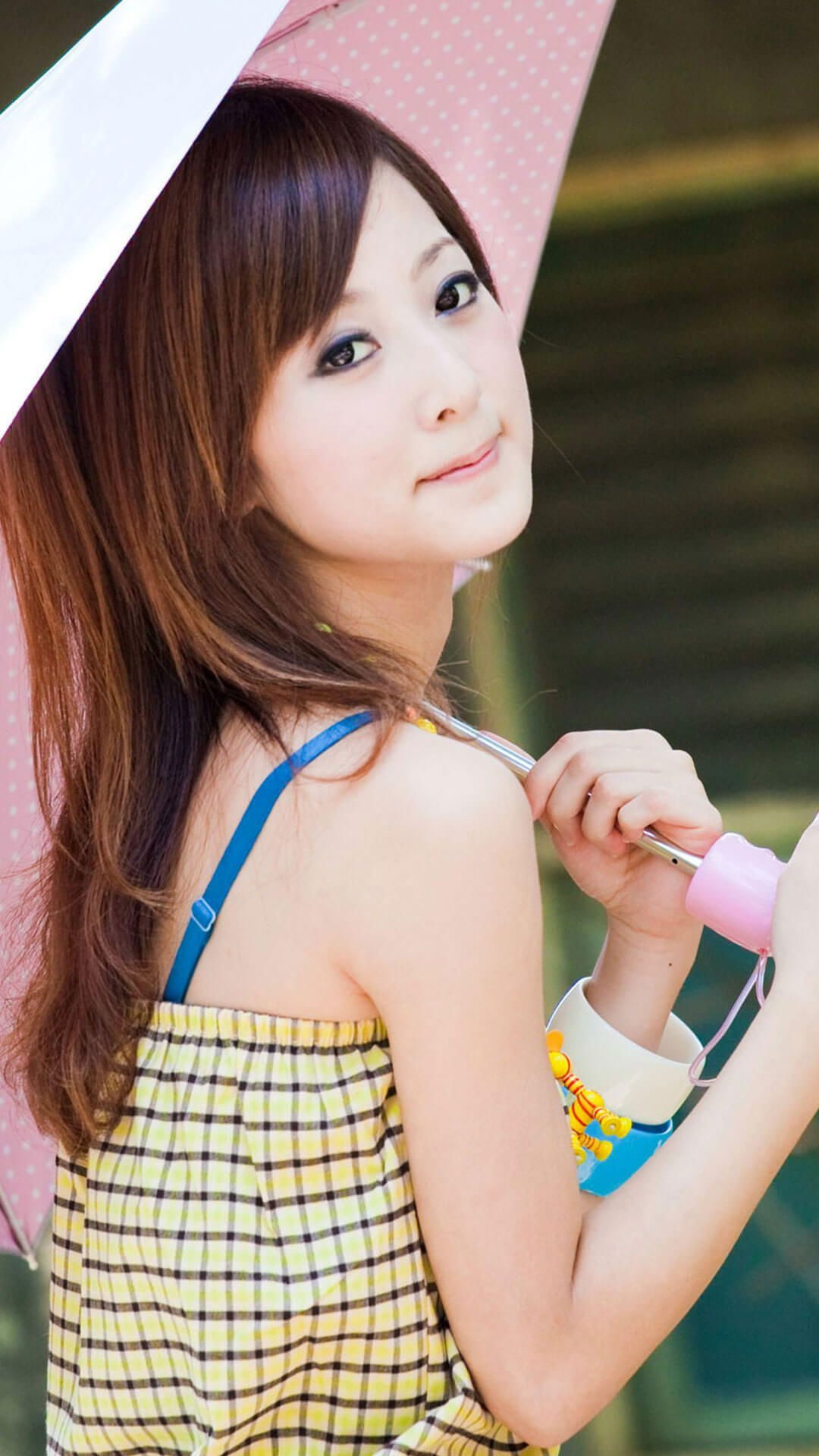 Pin on Cute Girl Wallpapers for iPhone