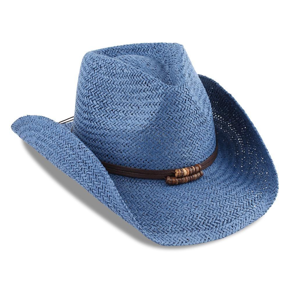 3a8d9cc89a7a8 Blue Drifter Style Cowboy Hat