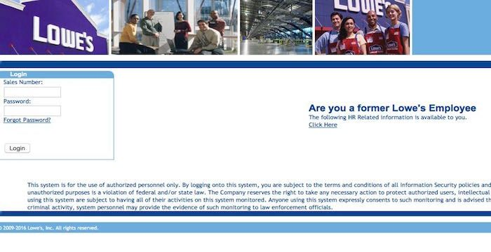 Lowes Employee Portal >> Lowes Employee Email Email Services Login Page Lowes