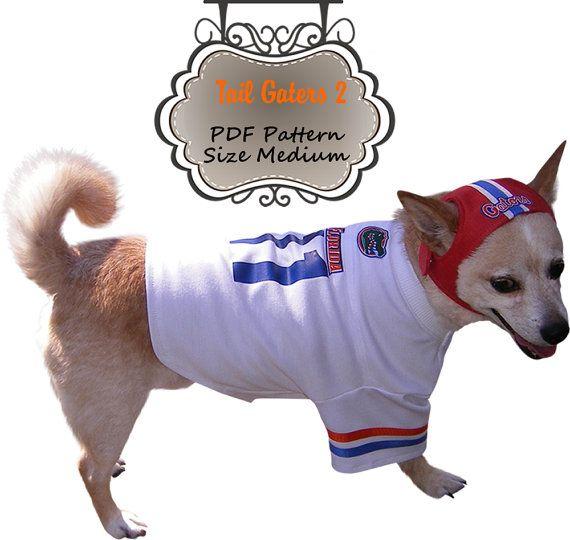 Dog Clothes Pattern Boys Football Jersey by MissDaisyDesignsShop, $7.99