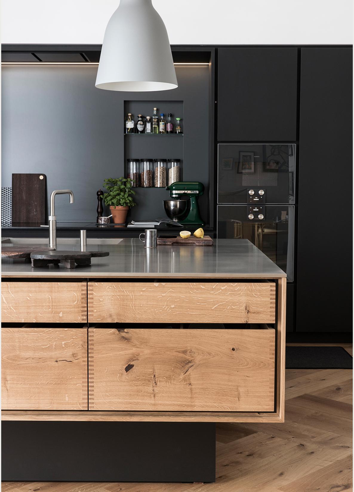 Küche und esszimmer designs pin von ma van auf küche  pinterest  einbauküche küche esszimmer