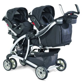graco double stroller quattro tour double stroller by. Black Bedroom Furniture Sets. Home Design Ideas