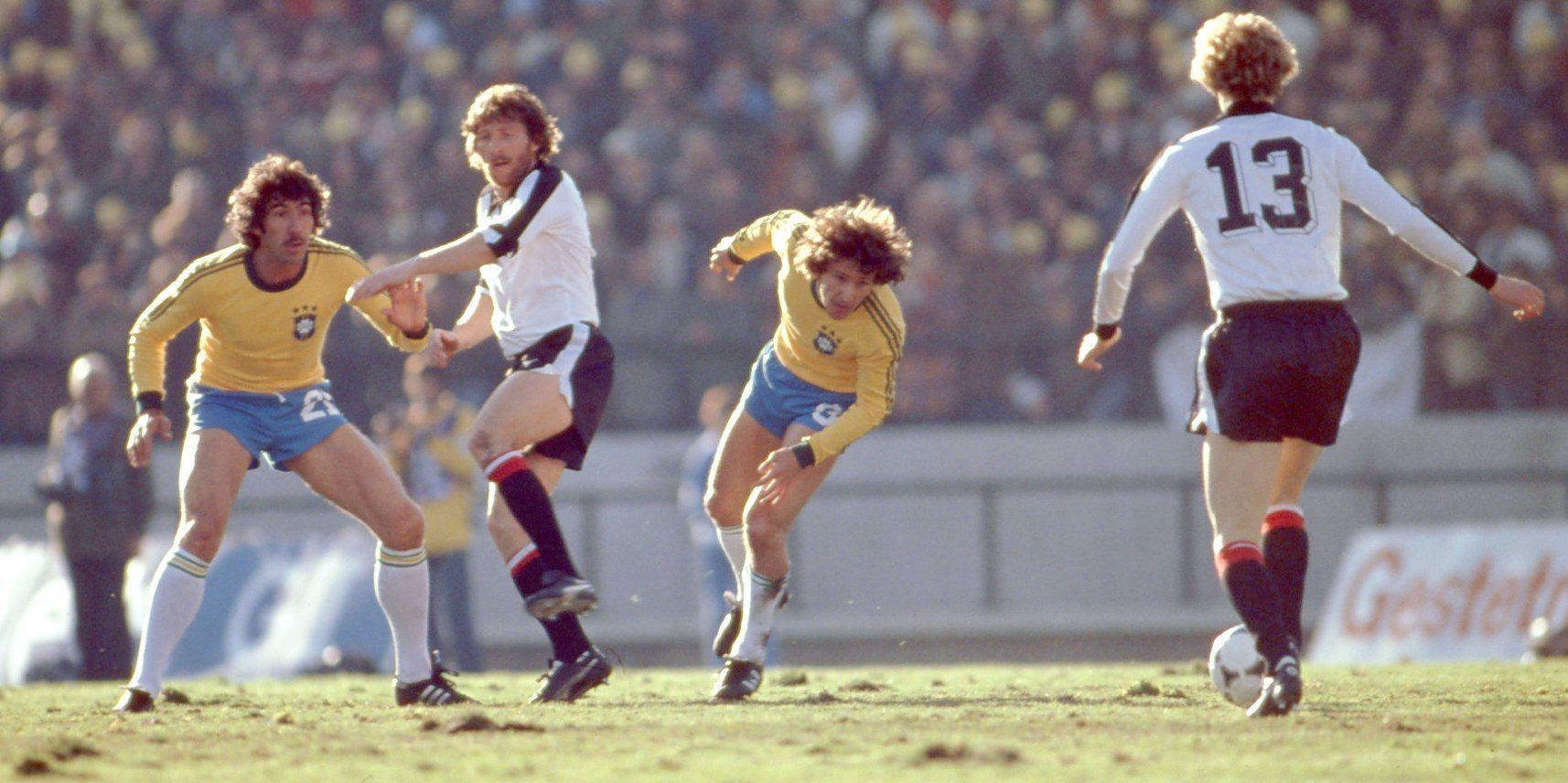 Jogo Do Brasil Contra A Austria Na Copa Do Mundo De 1978 Fussball
