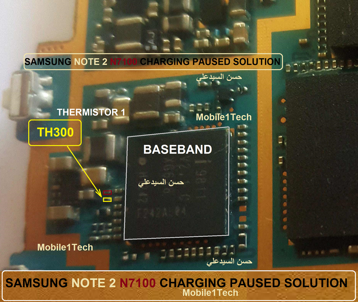 Samsung Galaxy Note Ii N7100 Charging Paused Solution Jumpers